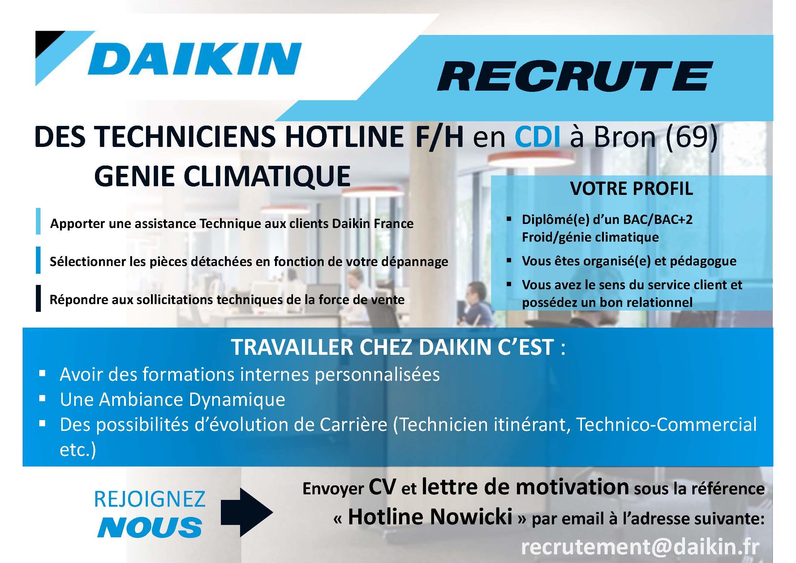 descriptif hotline daikin